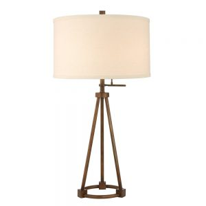 Tripod Table Lamp in Bronze