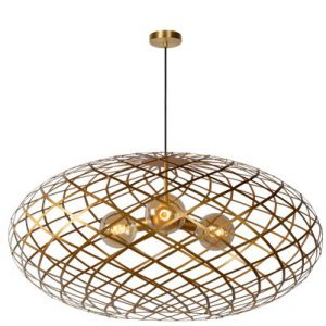 WOLFRAM – Pendant light – Ø 100 cm – 3xE27 – Matt Gold / Brass