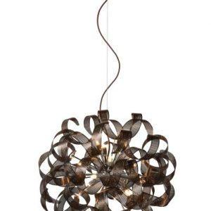 ATOMA – Pendant light – Ø 60 cm – 12xG9 – Brown