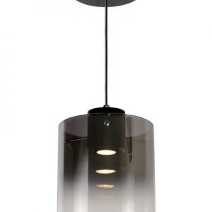 OWINO – Pendant light – Ø 20 cm – LED Dim.  Smoke Grey