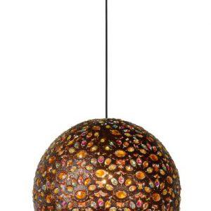 BYRSA – Pendant light – Ø 40 cm – 1xE27 – Rust Brown